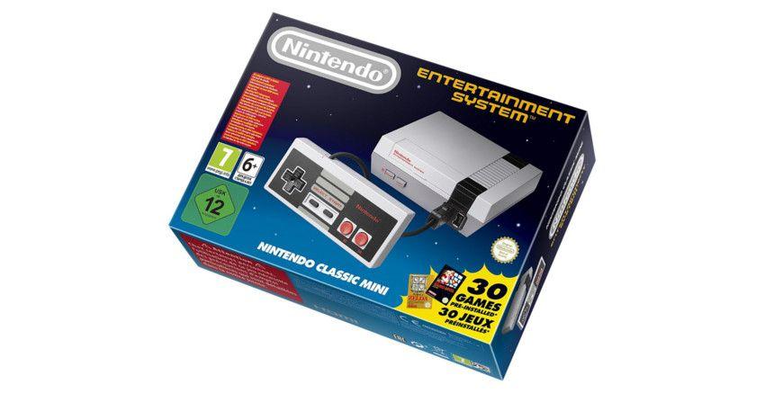 consola retro Nintendo NES