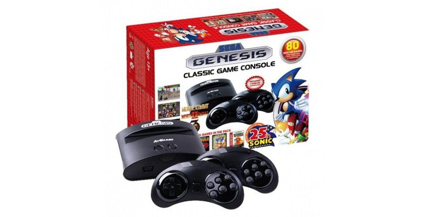 consola retro Sega Mega Drive Wireless