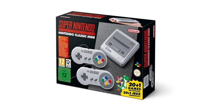 consola retro Super Nintendo SNES