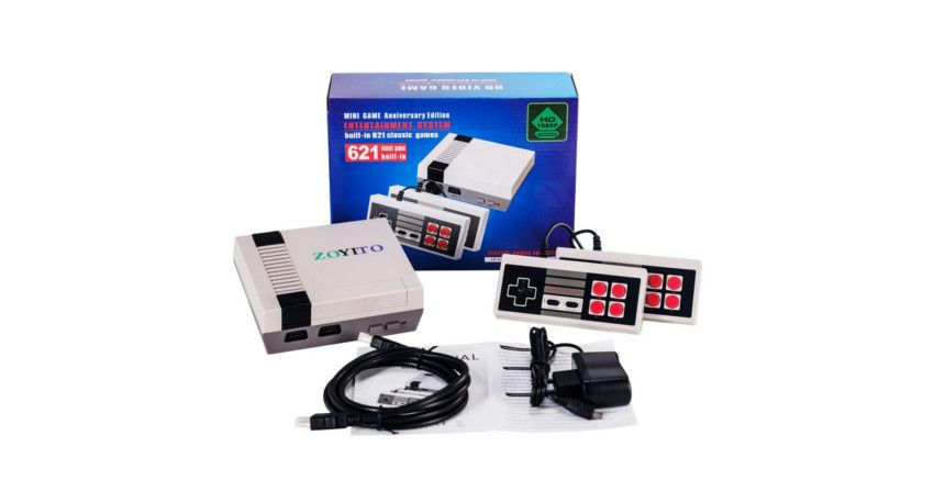 consola mini retro 600 juegos