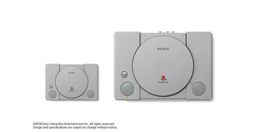 comparacion playstation 1 con playstation mini