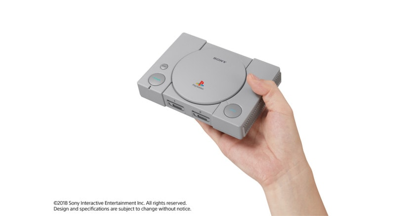 dimensiones de la playstation mini